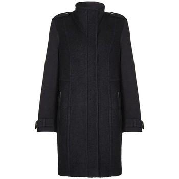 Clothing Women Duffel coats Anastasia - Black Womens Wool Winter Coat Black