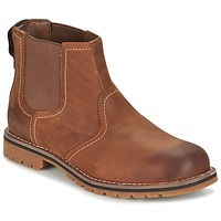 Shoes Men Mid boots Timberland Larchmont Chelsea Brown