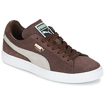 Shoes Low top trainers Puma SUEDE.BROWN/SESAME Brown