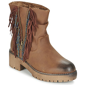 Shoes Women Mid boots Coolway BARINA CAMEL