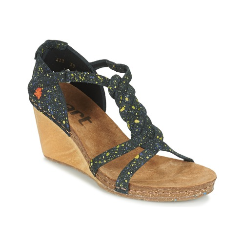 Shoes Women Sandals Art VALBY Black