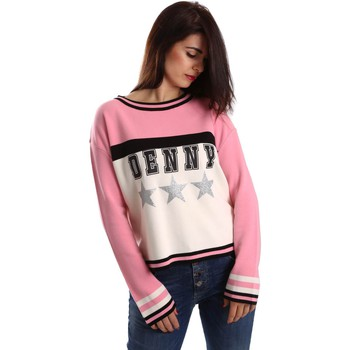 Clothing Women long-sleeved polo shirts Denny Rose 64DR15007 Jumper Women Bianco