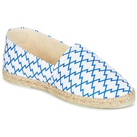 Shoes Women Espadrilles Maiett KIMONO White / Blue