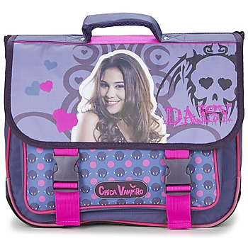 Bags Girl Satchels Dessins Animés CHICA VAMPIRO CARTABLE 38CM Purple