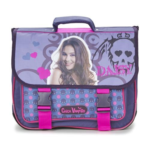 Bags Girl Satchels Dessins Animés CHICA VAMPIRO CARTABLE 38CM Purple