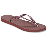 Shoes Women Flip flops Havaianas SLIM Purple