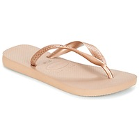 Shoes Women High boots Havaianas TOP METALLIC Gold / Pink
