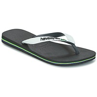 Shoes Flip flops Havaianas BRASIL MIX  BLACK