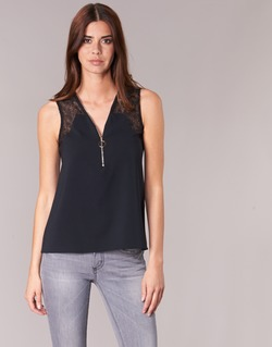 Clothing Women Tops / Blouses Morgan OBLOW Black