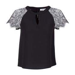 Clothing Women Tops / Blouses Morgan OMA Black