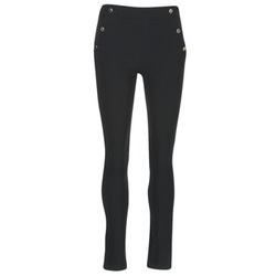 Clothing Women 5-pocket trousers Morgan PSHAPA Black