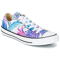 Shoes Women Hi top trainers Converse CHUCK TAYLOR ALL STAR - OX Fresh / CYAN / Magenta /  GLOW / White