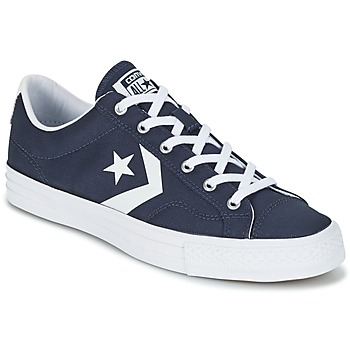 Shoes Men Low top trainers Converse STAR PLAYER - OX Marine / White