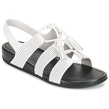 Shoes Women Sandals FitFlop GLADDIE LACEUP SANDAL URBAN / White