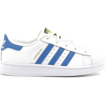 Shoes Children Walking shoes adidas Originals BA8383 Sport shoes Kid White White