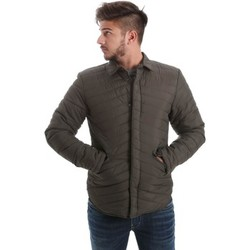 Clothing Men coats Automatic GBU22205 Down jacket Man Verde Verde