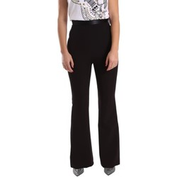 Clothing Women 5-pocket trousers Denny Rose 64DR12002 Trousers Women Black Black