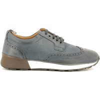 Shoes Men Walking shoes Soldini 20000-K Lace-up heels Man Blue Blue