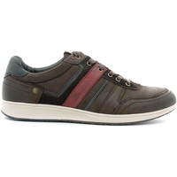 Shoes Men Low top trainers Wrangler WM162151 Sneakers Man Dark brown