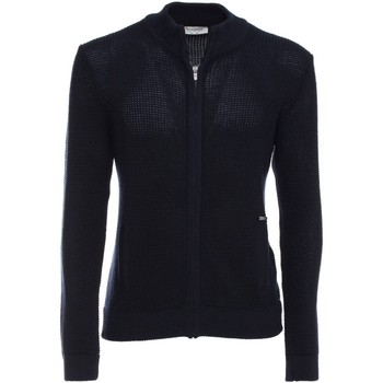 Clothing Men Jackets / Cardigans Nero Giardini A670480U Cardigan Man Blue Blue