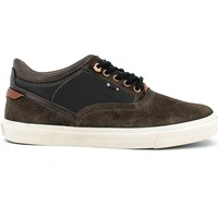Shoes Men Low top trainers Wrangler WM162111 Shoes with laces Man Dark brown