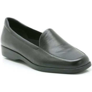 Clarks  Georgia Womens Extra Wide Casual Shoes  womens Loafers  Casual Shoes in black