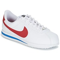Shoes Boy Low top trainers Nike CORTEZ BASIC SL GRADE SCHOOL White / Blue / Red