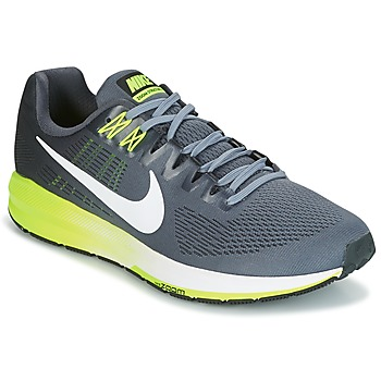 Shoes Men Running shoes Nike AIR ZOOM STRUCTURE 21 Grey