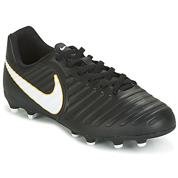 Shoes Children Football shoes Nike TIEMPO RIO IV FG JUNIOR Black / White