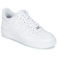 Shoes Men Low top trainers Nike AIR FORCE ONE White