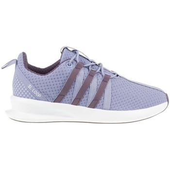 Shoes Children Low top trainers adidas Originals ZX Flux SL Loop Racer J Violet