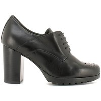 Shoes Women Walking shoes Grace Shoes 6621736 Lace-up heels Women Black Black