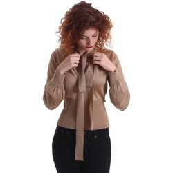 Clothing Women Jackets / Cardigans Denny Rose 64DR25002 T-shirt Women Oro