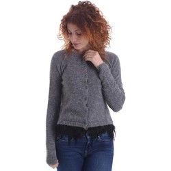 Clothing Women Jackets / Cardigans Denny Rose 64DR25007 Cardigan Women Grigio