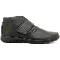 Shoes Men Walking shoes Enval 6885 Scarpa velcro Man Black Black