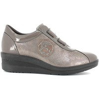 Shoes Women Walking shoes Enval 6986 Scarpa velcro Women Smog Smog