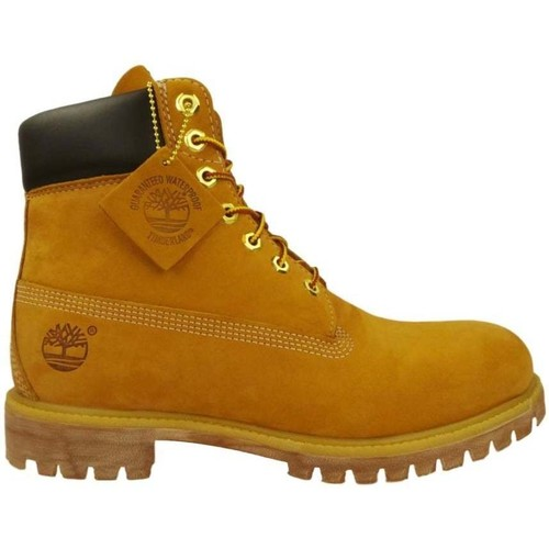 Shoes Men Mid boots Timberland 6 In Premium yellow