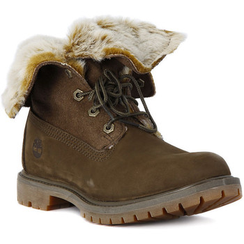 Shoes Women Boots Timberland FAUX CATEEN Multicolore