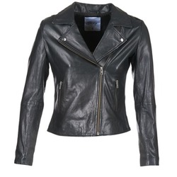 Clothing Women Leather jackets / Imitation leather Betty London IGADITE Black