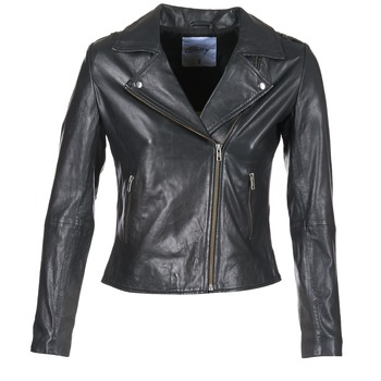 Clothing Women Leather jackets / Imitation leather Betty London GADITE Black
