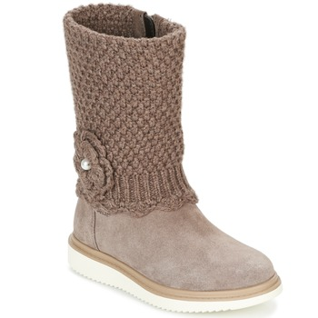Shoes Girl High boots Geox J THYMAR G. F Beige