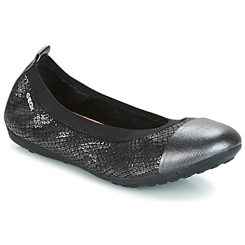 Shoes Girl Flat shoes Geox J PIUMA BAL B Black