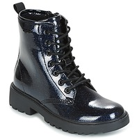 Shoes Girl Mid boots Geox J CASEY G. K MARINE