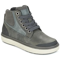 Shoes Boy Hi top trainers Geox J MATT.B ABX C Grey