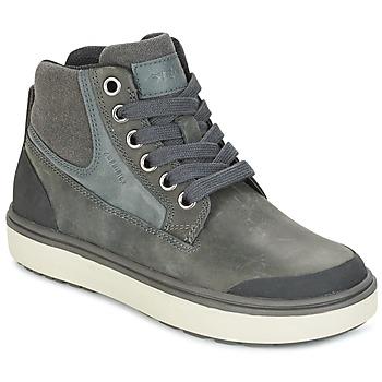 Shoes Boy Hi top trainers Geox J MATT.B ABX C Grey