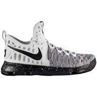 Shoes Men Low top trainers Nike Zoom KD 9 White-Grey-Black