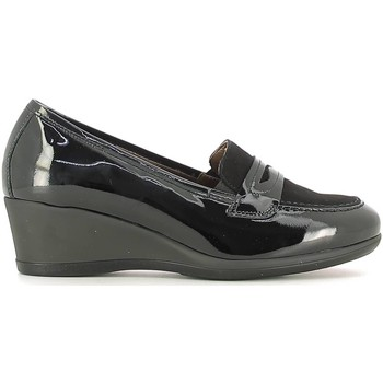 Shoes Women Loafers Nero Giardini A616881D Mocassins Women Black Black