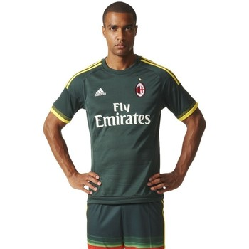 Clothing Men short-sleeved t-shirts adidas Originals AC Milan 3 20152016 Green