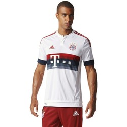 Clothing Men short-sleeved t-shirts adidas Originals FC Bayern München 20152016 White