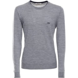 Clothing Men long-sleeved polo shirts Nero Giardini A670340U Jumper Man Grey Grey